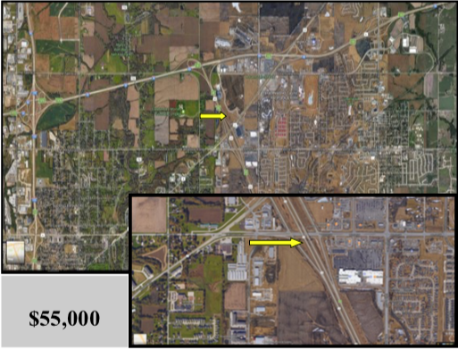 2 Lots – .458 Acres – E15th and I-235