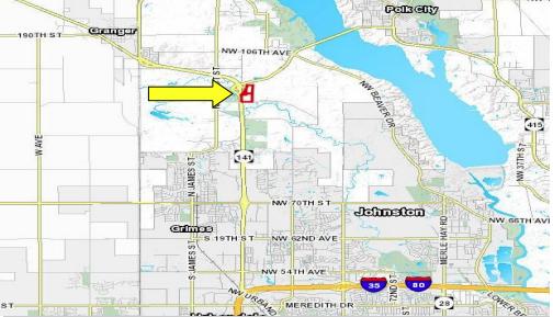 HWY 141 Near Johnston – 57 Acres
